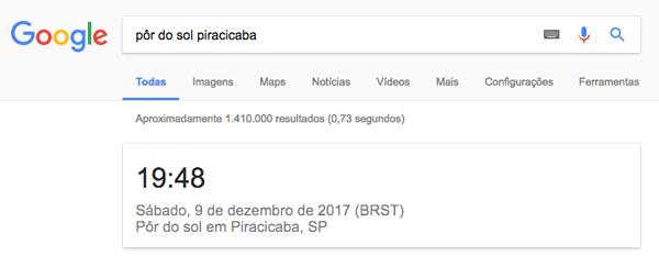 google-por-sol